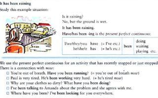 Present Perfect Continuous: разбор способов выражения действия, продлившегося до настоящего момента