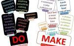 100 самых главных глаголов английского языка