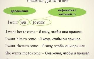 Правила образованияcomplexobjectв английском языке и важные нюансы