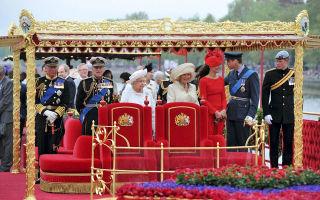 День королевы — торжества в лондоне