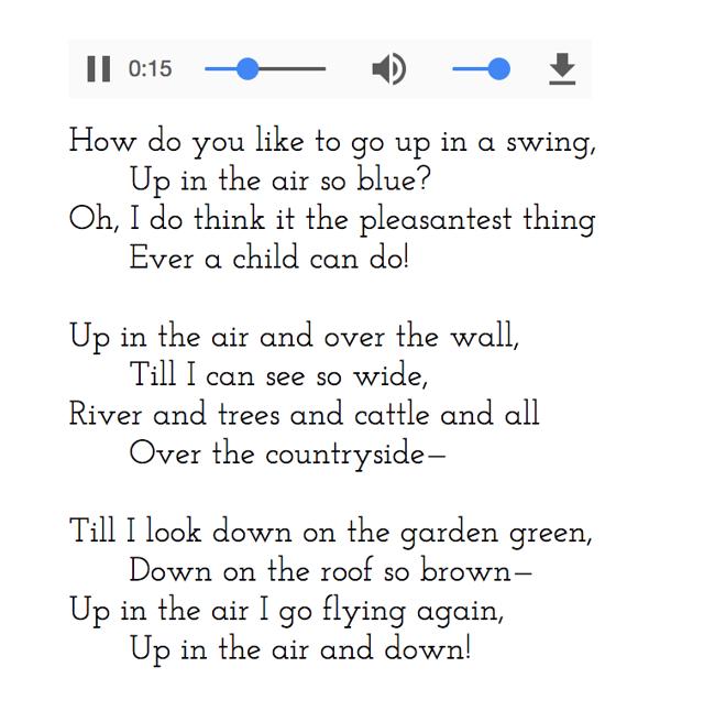 Стихи на английском языке для детей, малышей и школьников с переводом и произношением