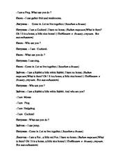 Сказка Теремок на английском языке для детей: слушаем, смотрим, понимаем