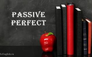 Past perfect passive