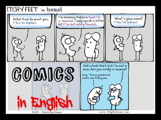 Комиксы на английском языке для детей: как способ изучения английского