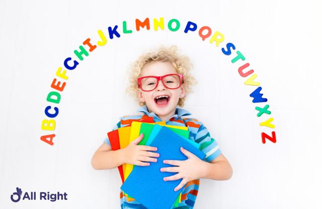Фонетика английского языка для детей, транскрипция и слова с озвучиванием