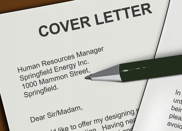 Сопроводительное письмо на английском языке для отправления резюме