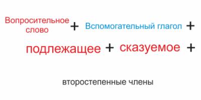 Порядок слов в английском предложении: структура, состав, правила