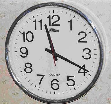 Время на английском языке: таблица, часы. Два способа сказать о времени.