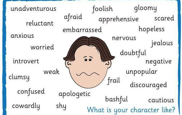 Прилагательные на английском характеризующие человека: внешность и характер