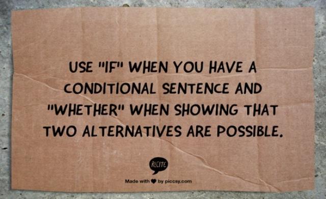 Предложения с if в английском языке: учимся ставить условия по-английски
