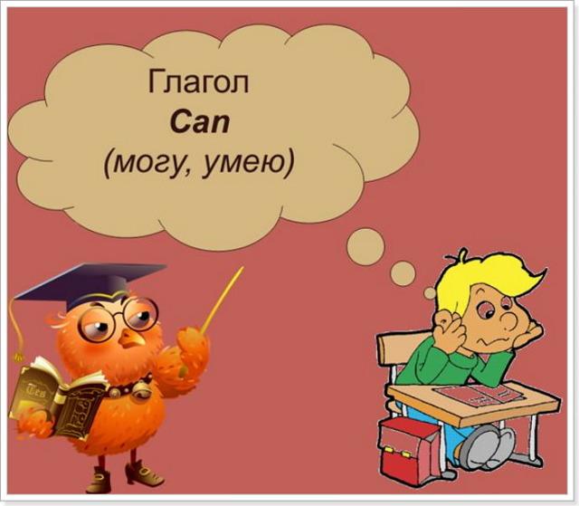 Глагол can в английском языке: его значения, формы и примеры употребления