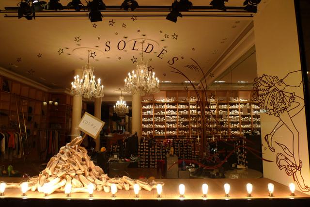 Зимние распродажи в Лондоне