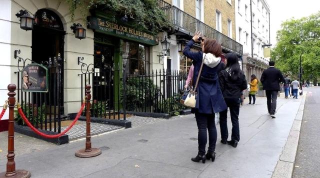 Карта и маршрут Шерлока Холмса в Лондоне