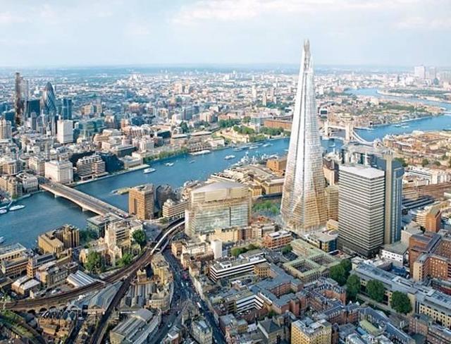 10 самых знаменитых небоскребов Лондона
