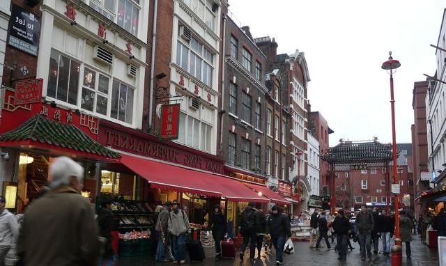 Район Сохо в Лондоне