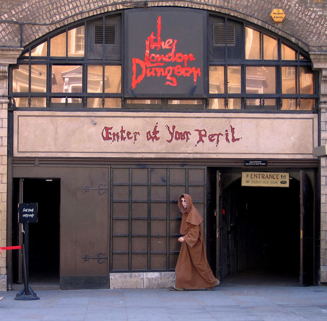 london dungeon — музей ужасов в Лондоне