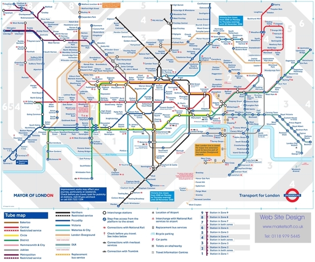 20 самых важных станций метро Лондона