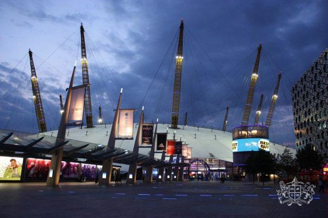 О2 Арена – самый большой концертный зал Лондона