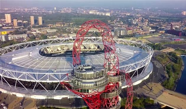 arcelormittal orbit в Лондоне: смотровая площадка и аттракцион в одном