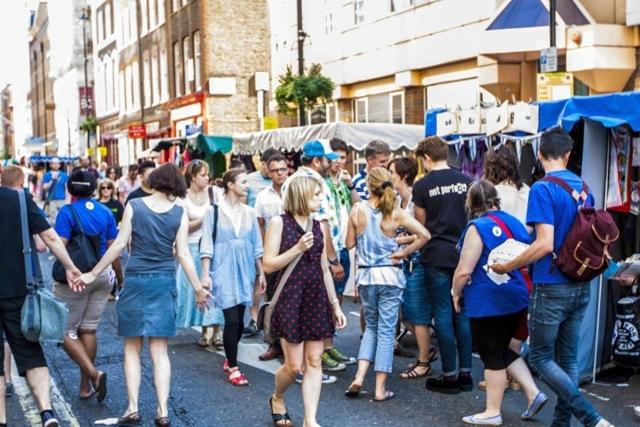Лондон для гурманов: продуктовые рынки