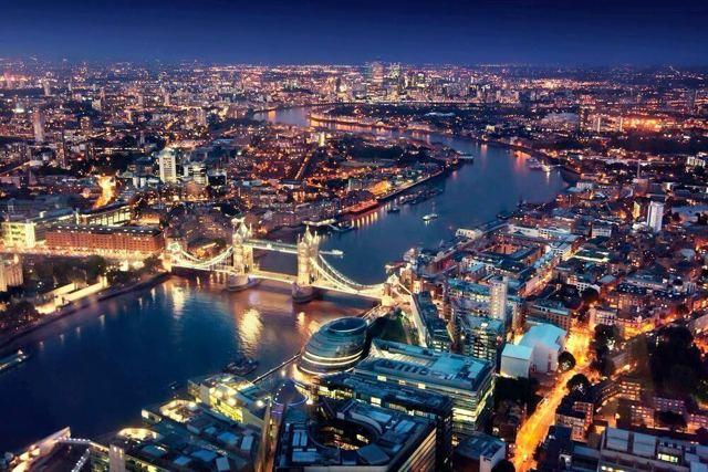Самый высокий небоскреб в Лондоне — the shard