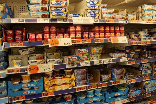 Где лучше покупать продукты питания в Лондоне