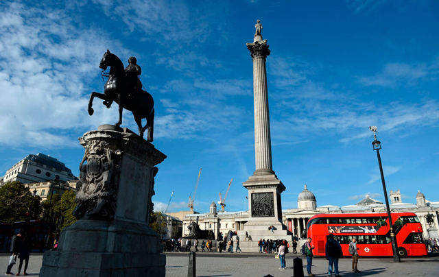 Достопримечательности Лондона: Трафальгарская площадь