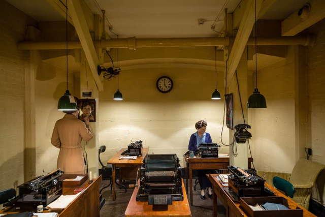 Музей-бункер «Военные комнаты» Черчилля
