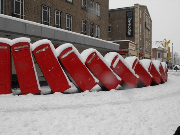 Телефонная будка в Лондоне - символ города и предмет антиквариата