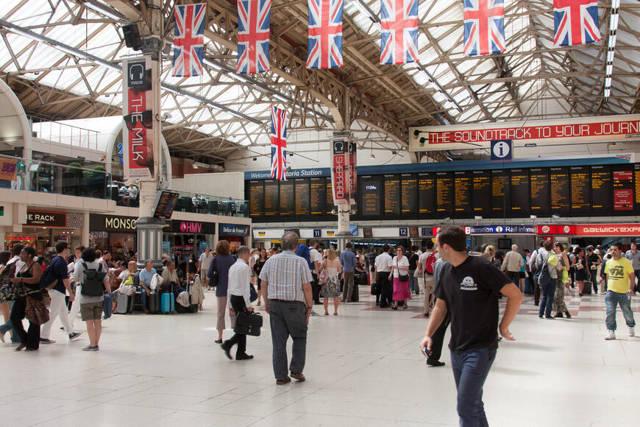 Вокзал «Виктория» в Лондоне