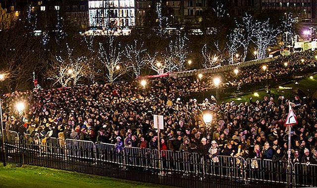 Новогодний фестиваль в Эдинбурге