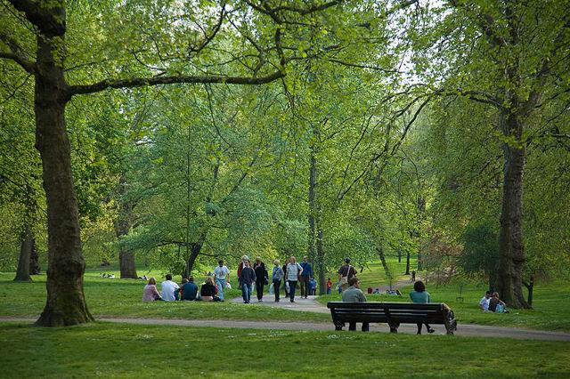 5 самых известных парков Лондона