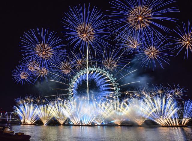 Как провести время в Лондоне на Новый год