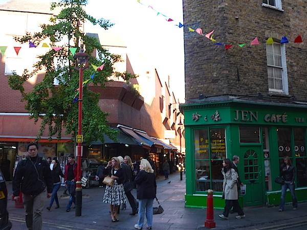 Чайна-таун в Лондоне
