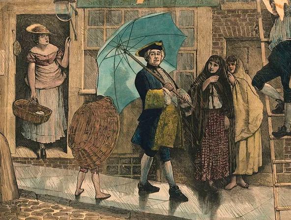 Лондон в марте: ищем трилистники, не забываем зонтики!