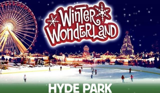 Зимняя страна чудес в Гайд-Парке