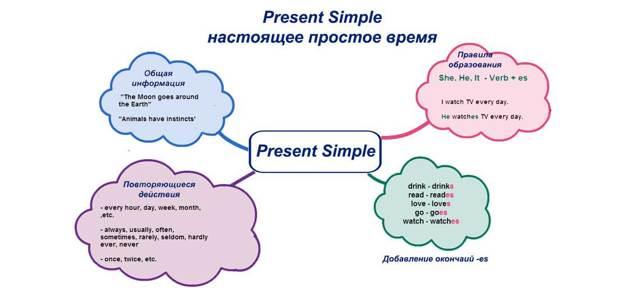 Время Present Simple в английском языке
