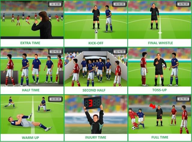 Английский словарь для футбольных фанатов