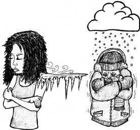 Разница между синонимами слова cold