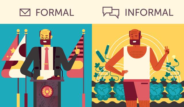 Формальный и неформальный английский язык: как общаться правильно