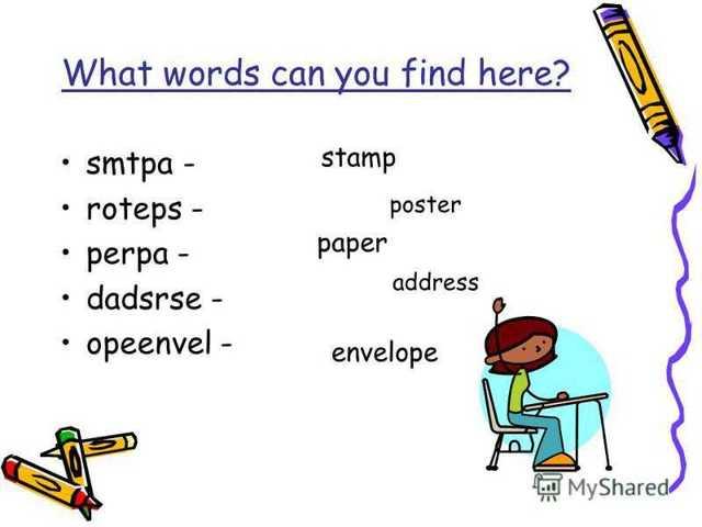Как написать адрес на английском
