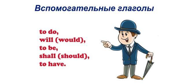 Для чего нужны вспомогательные глаголы в английском языке