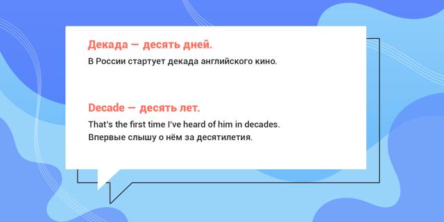 Фразы и слова в английском языке, которые часто путают