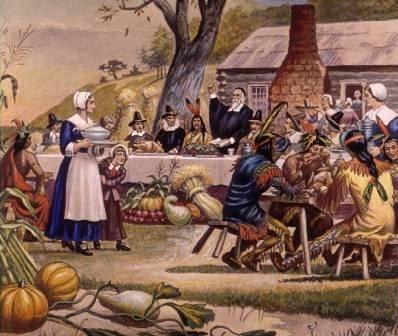 Американский юмор на День благодарения: лучше индейка в духовке, чем журавль в небе