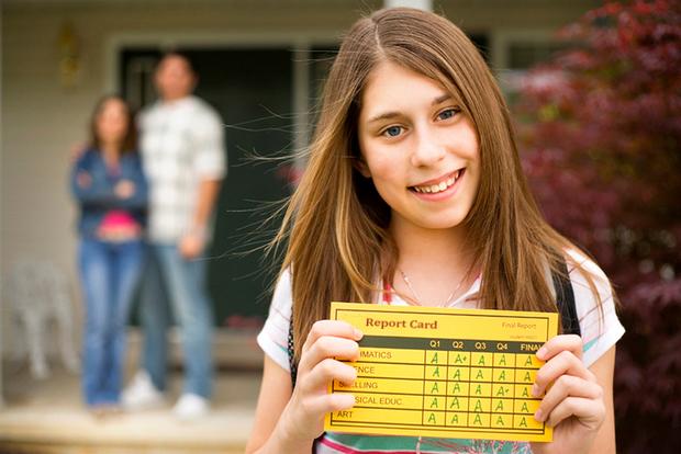 Американская школа: система оценок