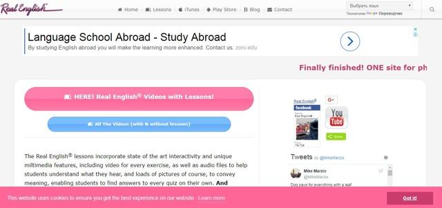 Ресурсы для изучения английского языка: топ-5 лучших сайтов с видеороликами