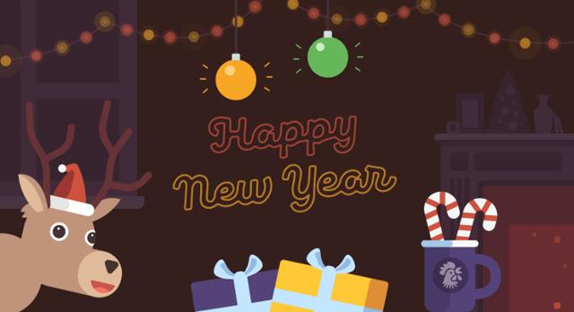 Праздничные поздравления на английском: Рождество и Новый год