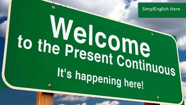Время Present Continuous