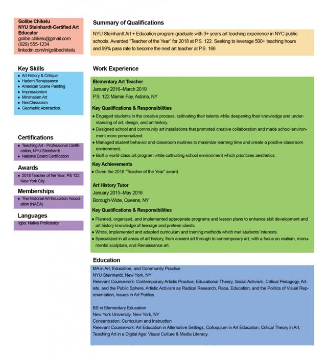 Как писать CV или резюме на английском языке: пример и инструкция