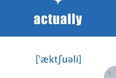 Английские слова-связки в устной речи и на письме